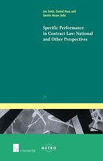 Specific Performance in Contract Law; National and Other Perspectives