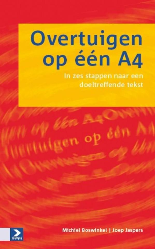 Overtuigen op één A4