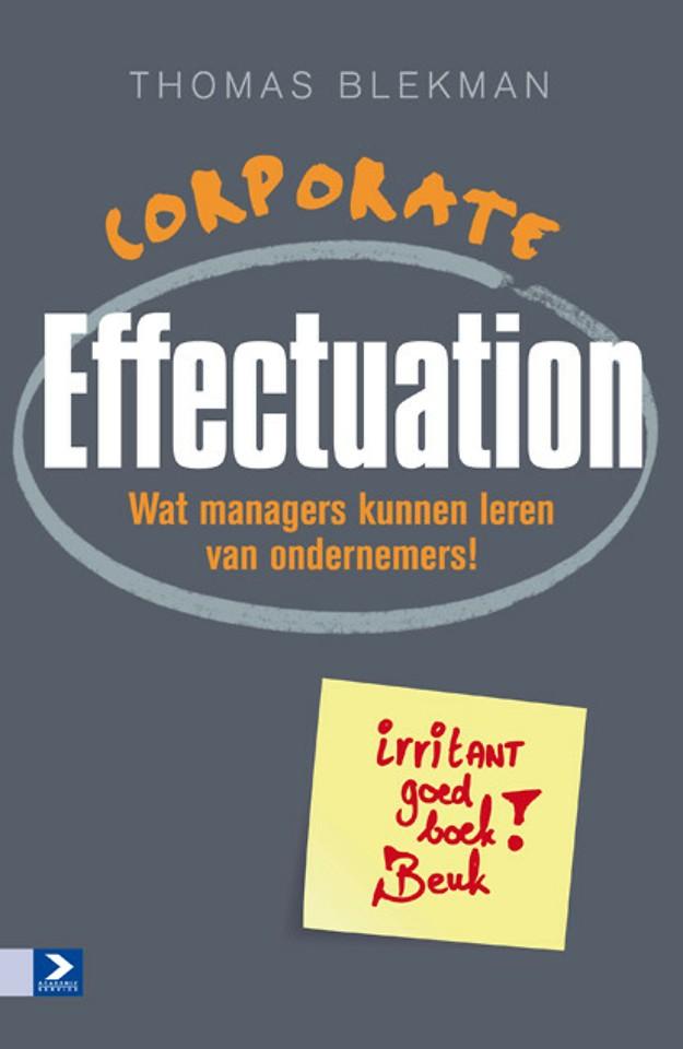Corporate Effectuation