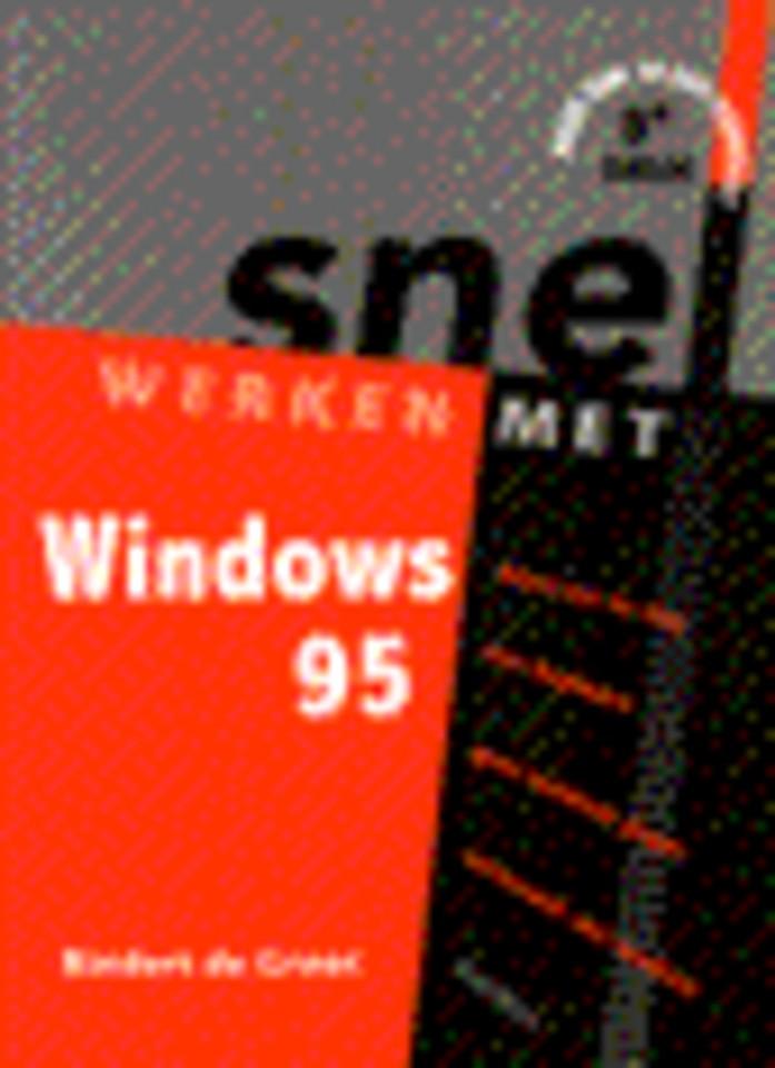 Snel werken met Windows 95 binnen handbereik