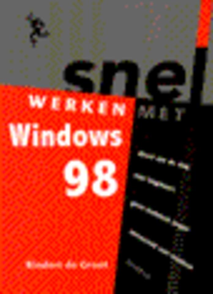 Snel werken met Windows 98
