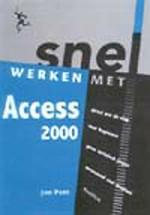 Snel werken met Access 2000