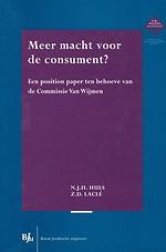 Meer macht voor de consument