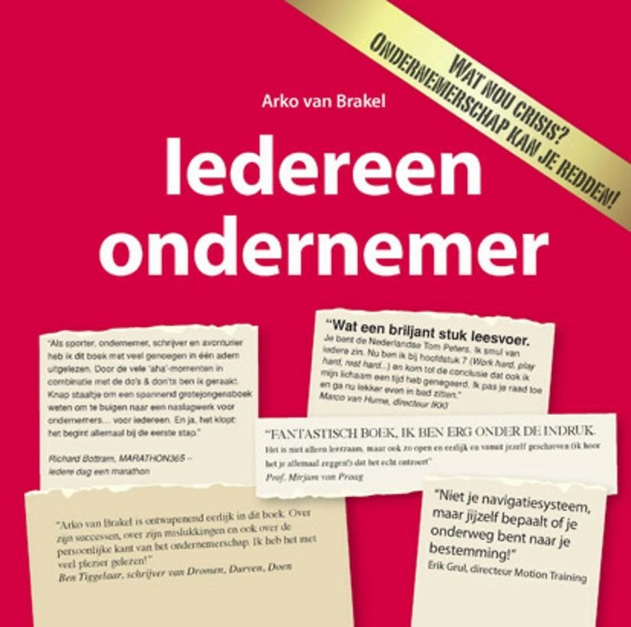 Iedereen ondernemer (3e druk 2010, licht beschadigd)