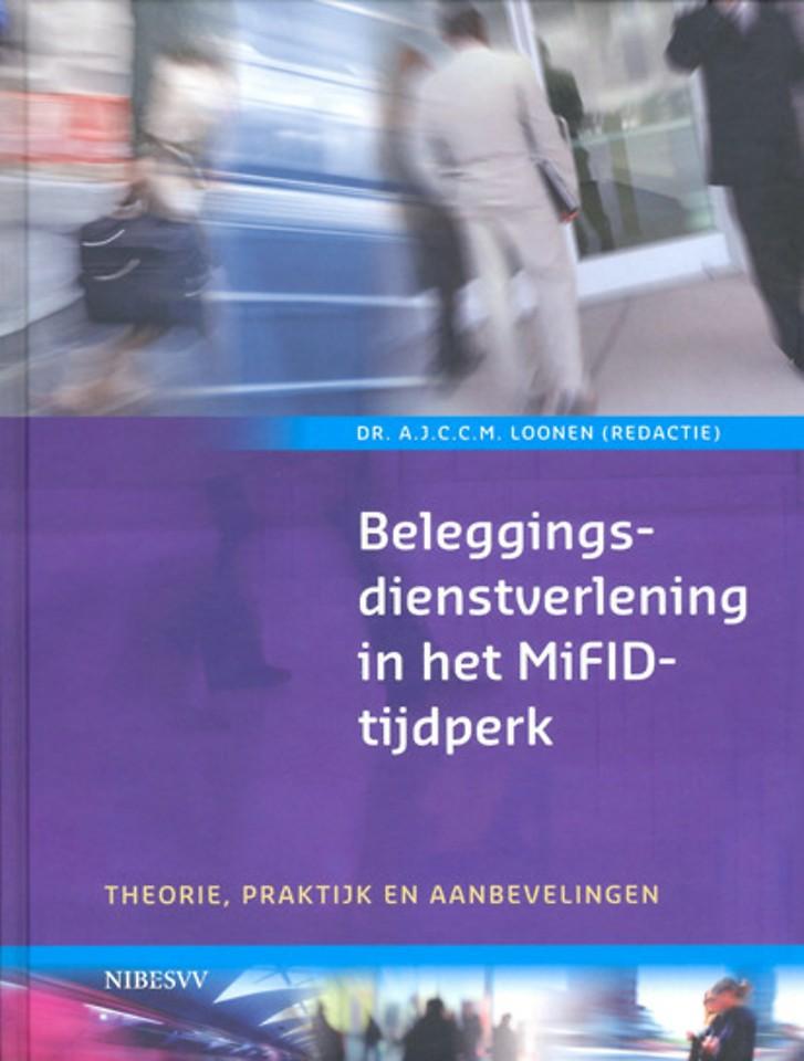 Beleggingsdienstverlening in het MiFID-tijdperk