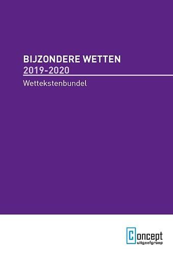 Bijzondere Wetten 2019-2020