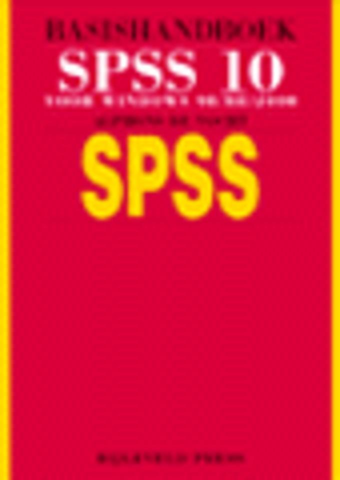 Basishandboek SPSS 10
