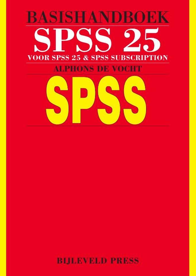 Basishandboek SPSS 25