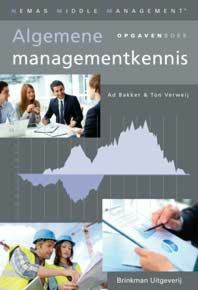 Algemene managementkennis, opgavenboek
