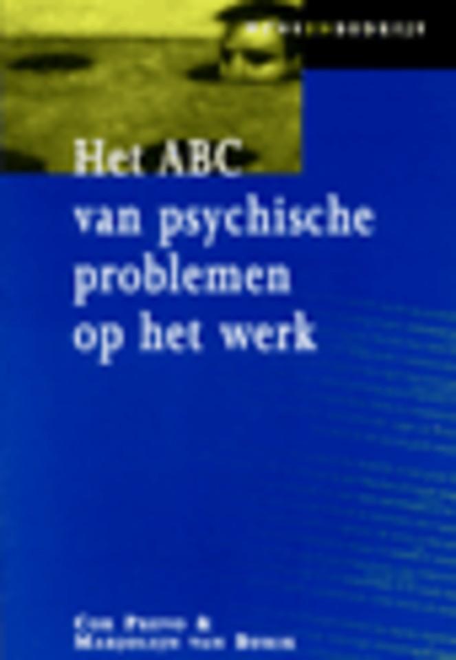 Het ABC van psychische problemen op het werk