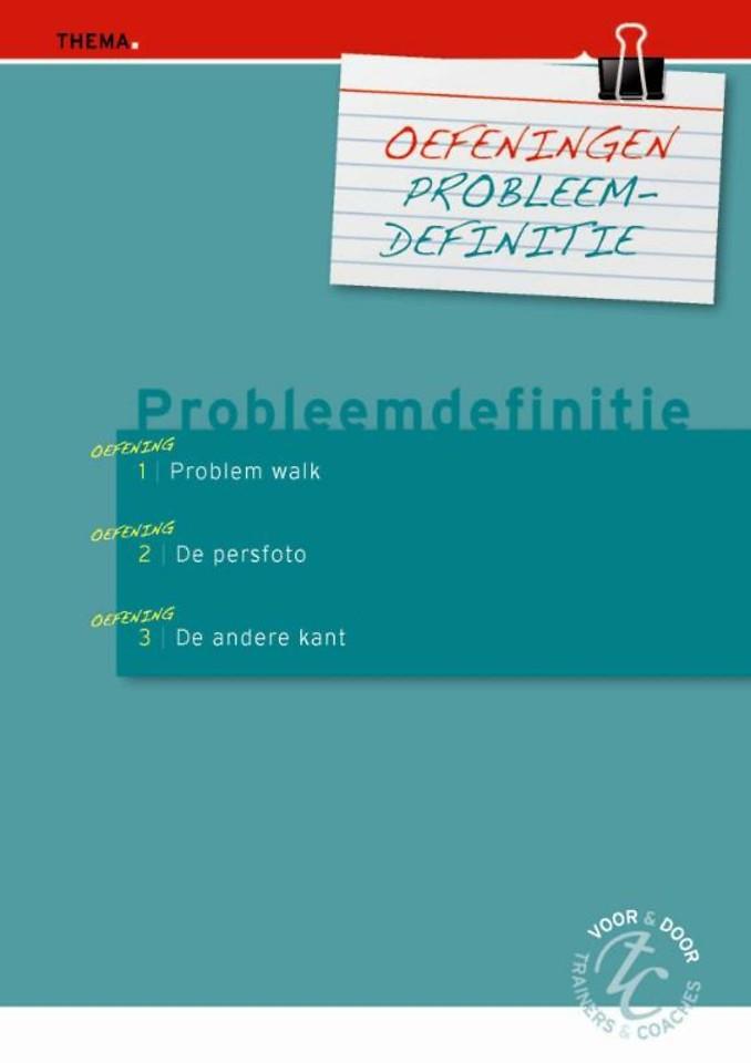 Oefeningen probleemdefinitie