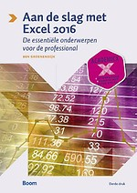 Aan de slag met Excel 2016