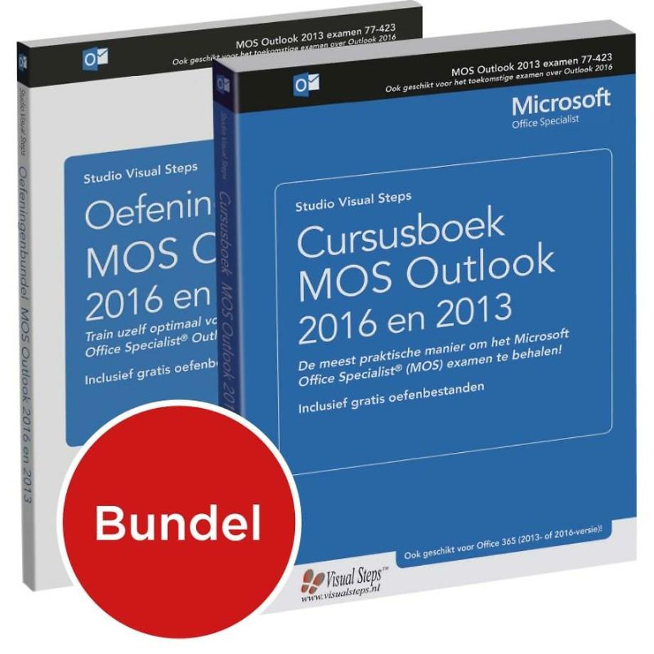 Cursusboek MOS Outlook 2016 en 2013 + extra oefeningen