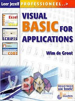 Leer jezelf PROFESSIONEEL... Visual Basic for Applications (VBA)