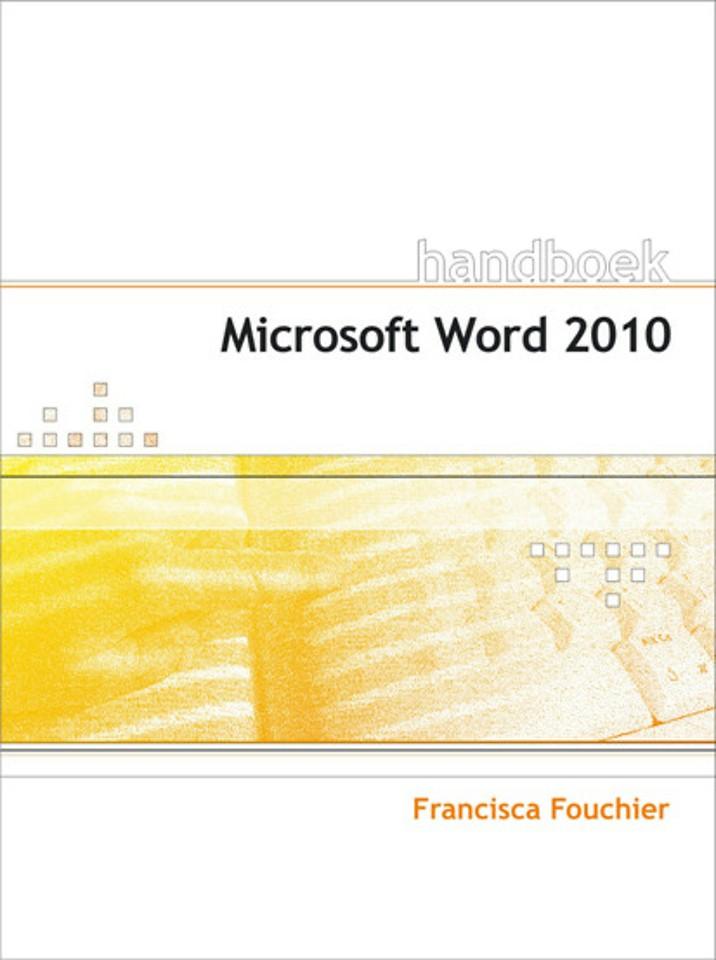 Handboek Microsoft Word 2010