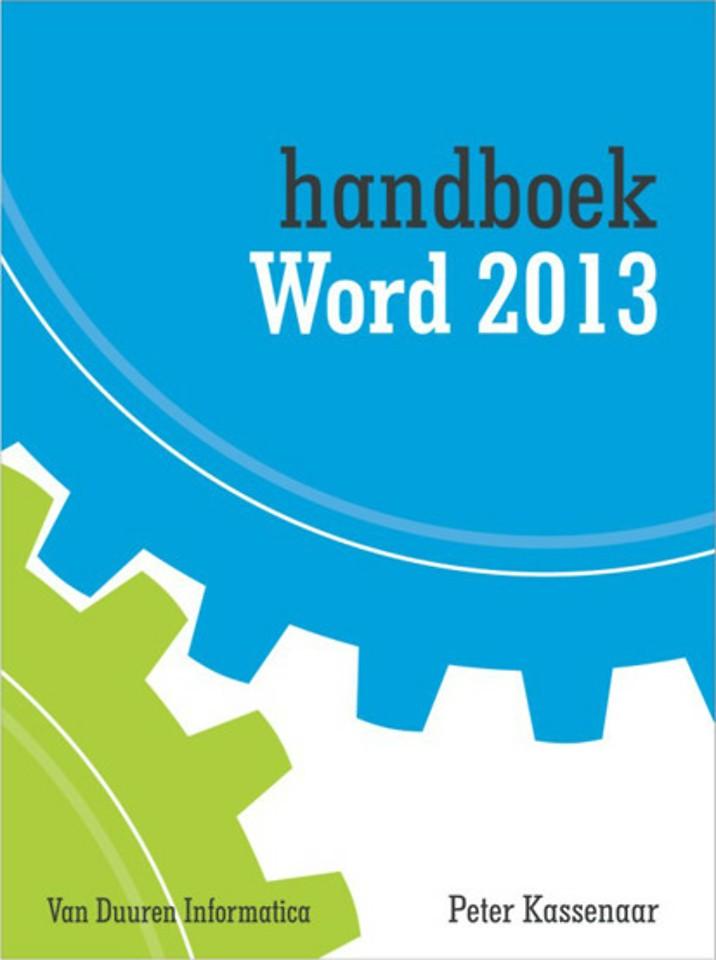 Handboek Word 2013