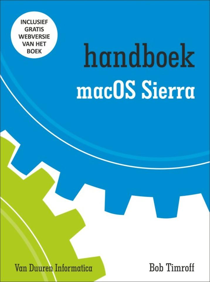 Handboek MacOS Sierra