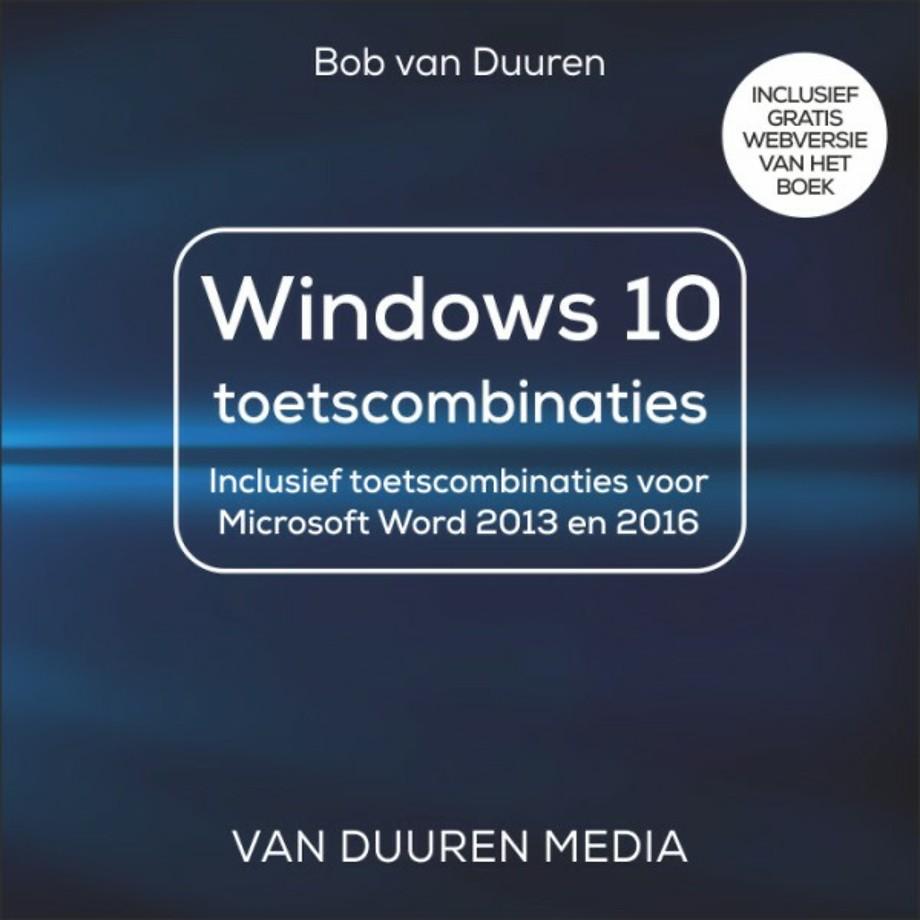 Windows 10 toetscombinaties