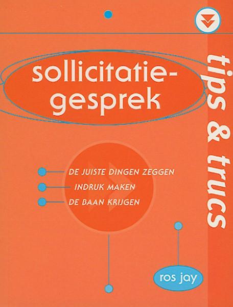 sollicitatiebrief tips en trucs Tips & trucs: Sollicitatiegesprek door Ros Jay (Boek)   Jongbloed.nl sollicitatiebrief tips en trucs