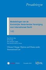 Mededelingen van de Koninklijke Nederlandse Vereniging voor Internationaal Recht 145 - KNVIR Preadviezen