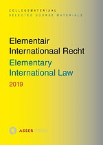 Elementair Internationaal Recht - Elementary International Law 2019