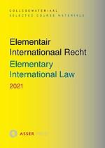 Elementair Internationaal Recht - Elementary International Law 2021