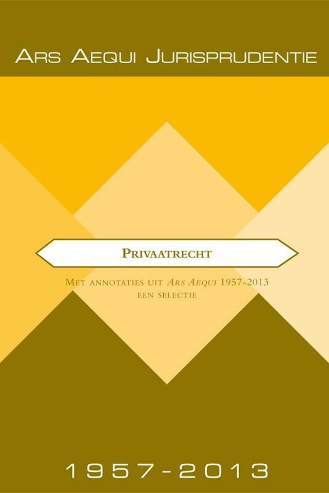 Ars Aequi Jurisprudentie Privaatrecht 1957-2013