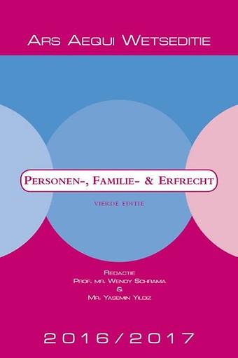 Personen-, familie- en erfrecht 2016/2017