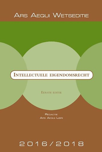 Intellectuele eigendomsrecht 2016/2018