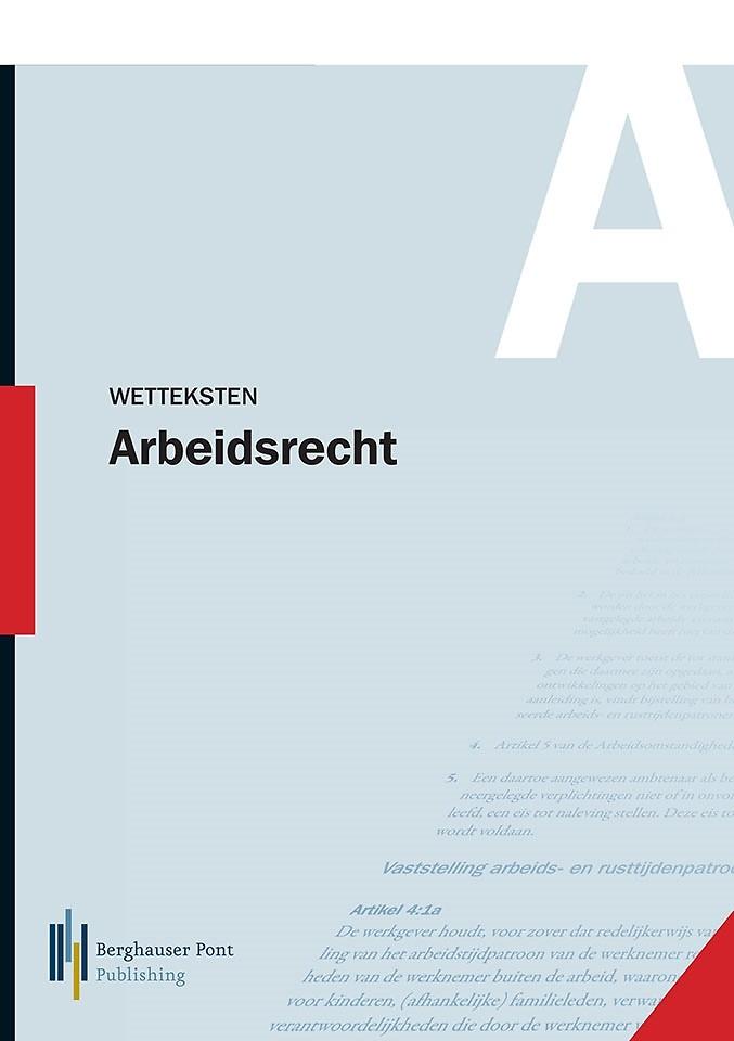 Wetteksten Arbeidsrecht 2017-1