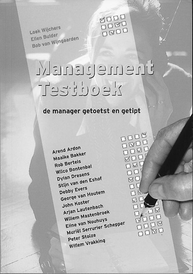 Management testboek. Tools en instrumenten voor managers