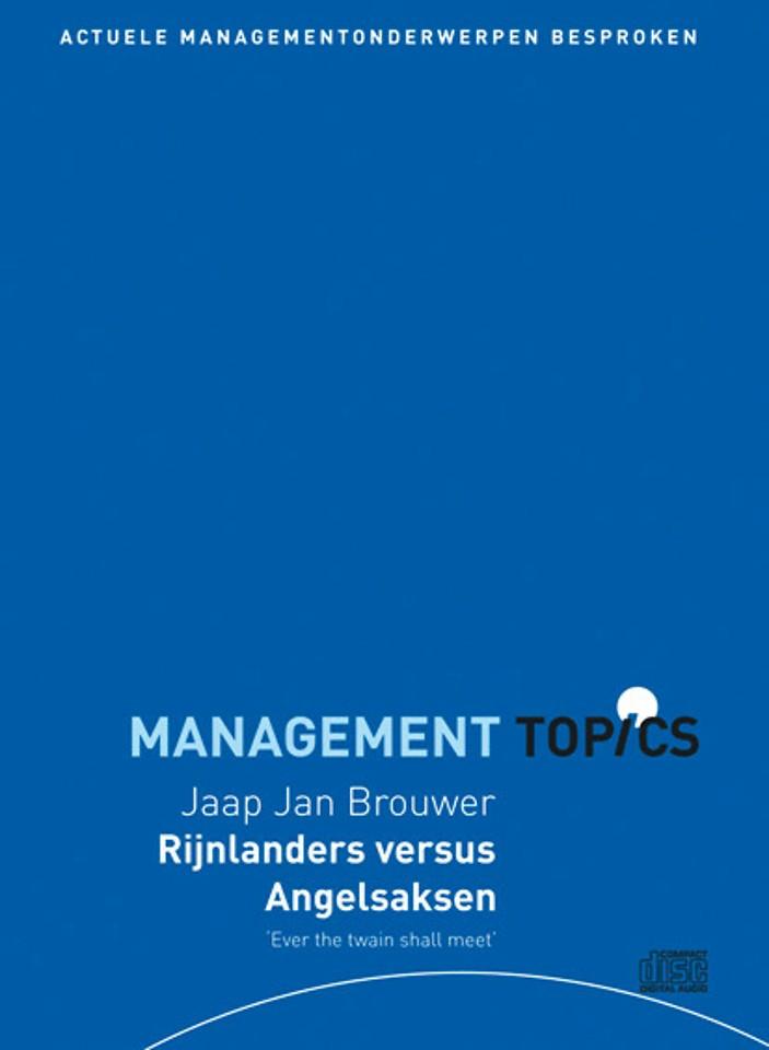 Jaap Jan Brouwer over Rijnlanders versus Angelsaksen (Management Topics)
