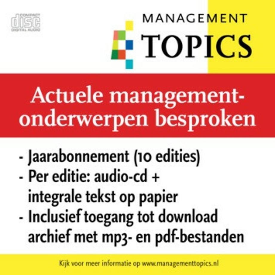 Management Topics abonnement (10 edities per jaar)