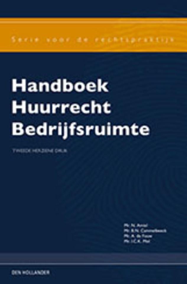 Handboek Huurrecht Bedrijfsruimte 2e herziene druk