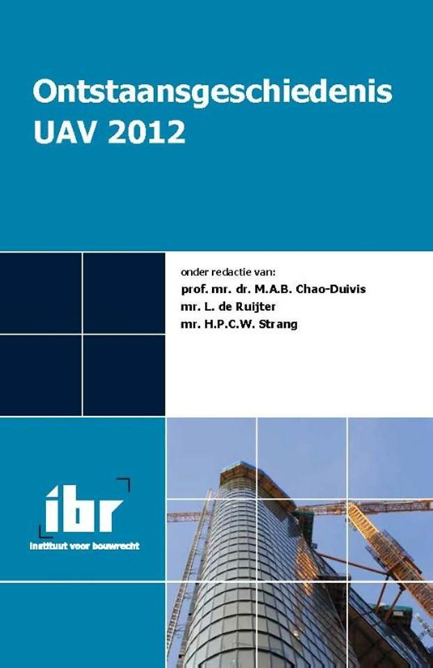 Ontstaansgeschiedenis van de UAV 2012