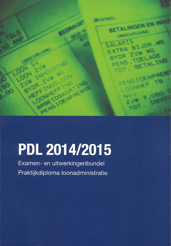 Examen- en uitwerkingenbundel voor het PDL - editie 2014-2015