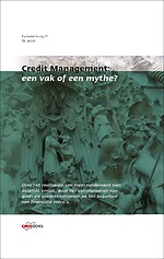 Credit Management: een vak of een mythe?