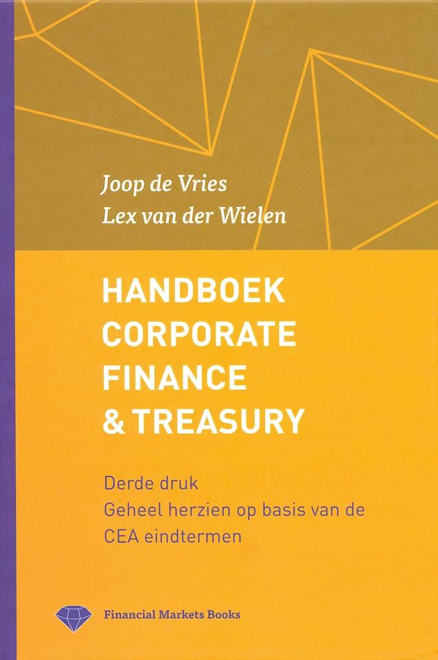 Handboek Corporate Finance & Treasury - 3e druk