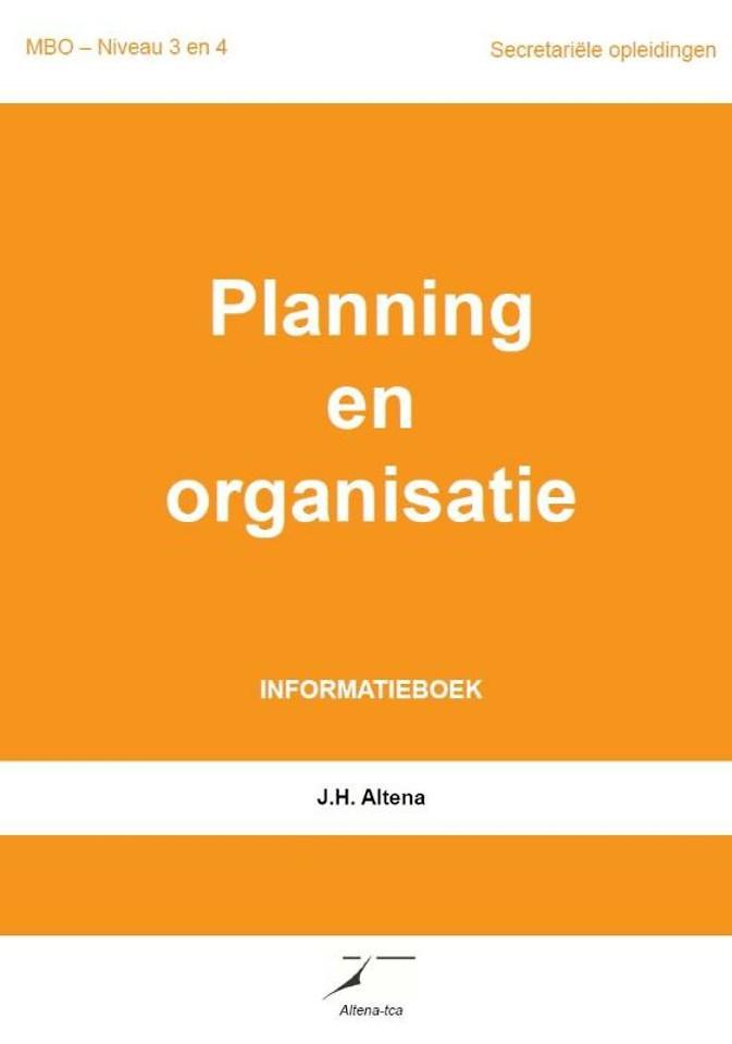 Planning en organisatie