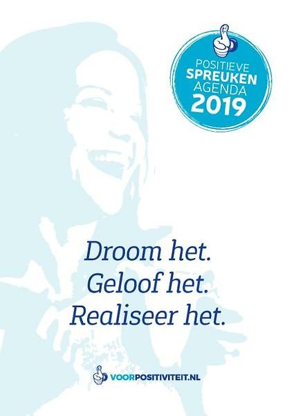 spreuken agenda Positieve spreuken agenda 2019 door Mark Verhees (agenda  spreuken agenda