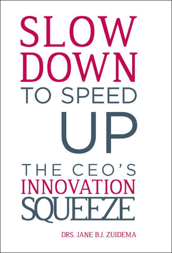Slow Down to Speed Up - The CEO's Innovation Squeeze