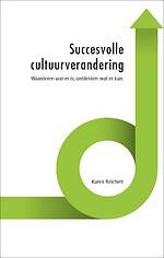 Succesvolle cultuurverandering