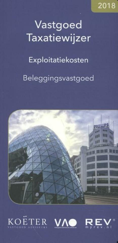 Vastgoed Taxatiewijzer - Exploitatiekosten 2018
