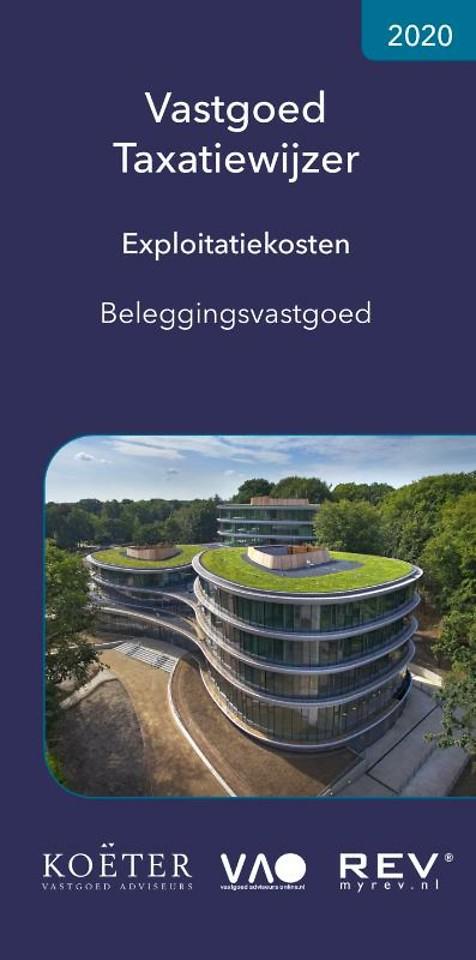 Vastgoed Taxatiewijzer Exploitatiekosten Beleggingsvastgoed 2020