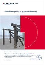 Wettenbundel privacy en gegevensbescherming