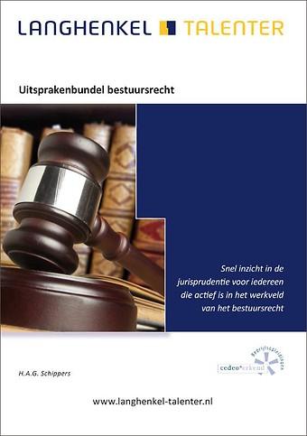 Uitsprakenbundel bestuursrecht