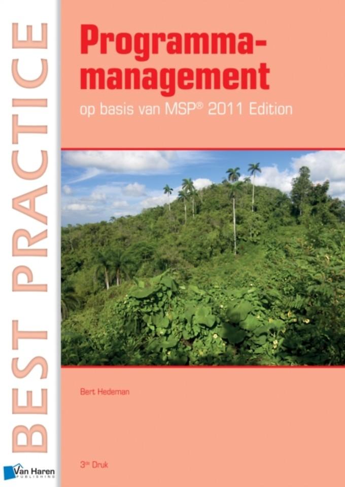 Programmamanagement op basis van MSP 2011 edition