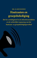 Haatzaaien en groepsbelediging