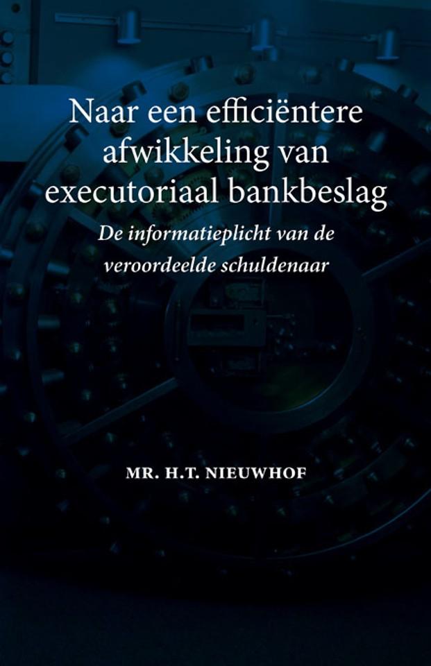 Naar een efficiëntere afwikkeling van executoriaal bankbeslag