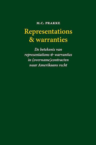 Representations & warranties